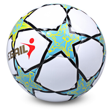 Regail Size 5 Five-pointed Star Soccer for School Match Training