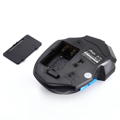F - 14 Adjustable 2400DPI Optical 2.4G Wireless Gaming Mouse
