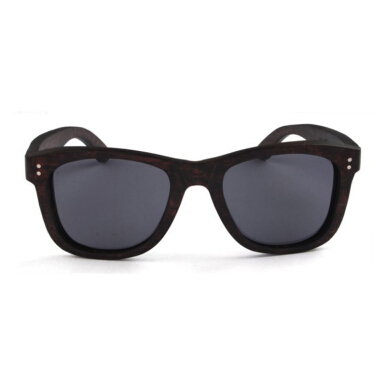 TUTU Ebony Wood Wayfarer Wooden Sunglasses [00026]