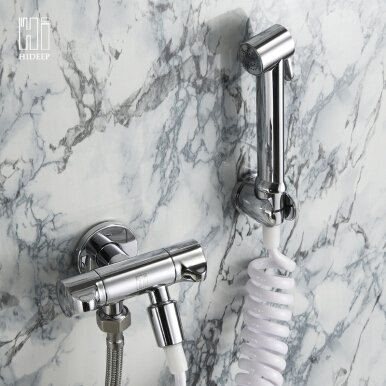 HIDEEP brass high quality bidet faucet  HI09001 --- Chrome