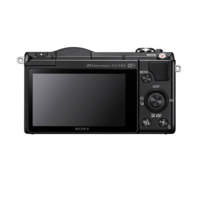 Sony ILCE-5000L Mirrorless - Hitam/Putih + 8GB SD Card