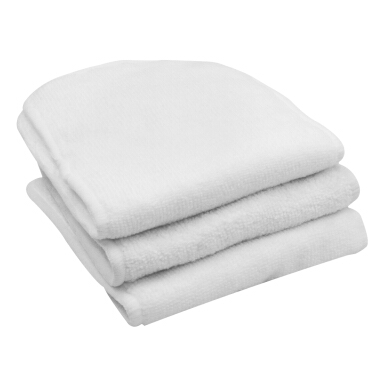 Show infant baby diapers diaper changing mat three microfiber cloth white one located