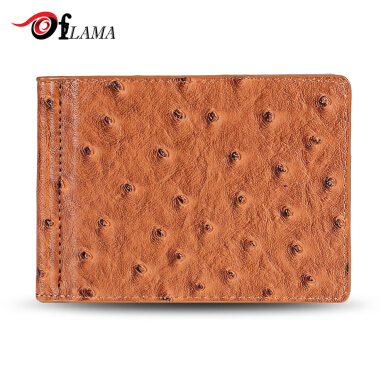 FLAMA Stylish PU Leather Cash Clip Card Wallet for Men