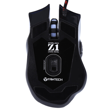 Fantech Z1 3200 DPI Professional Optical 7 Buttons USB  Wired Games Mouse Adjustable Colorful Breathing Light