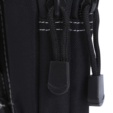 Water Resistant Zipper Buckle Outdoor Activity Sport Cell Phone Waist Bag for Unisex VERTICAL