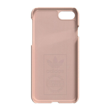 ADIDAS Moulded Case for iPhone 7 - Vapour Pink/White