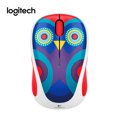 LOGITECH M238 Wireless Mouse - Blue