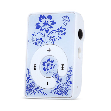 Mini Colorful Support 16G TF Card MP3 Music Player