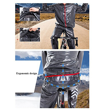 Cycling Jersey MultiFunction Jacket Rain Waterproof Windproof TPU Raincoat Bicycle Equipment Clothes 4 olors