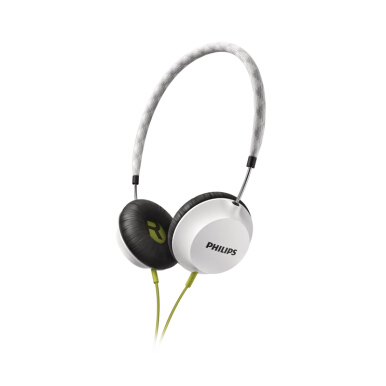 PHILIPS SHL 5100 LIGHTWEIGHT HEADPHONE HITAM/PUTIH/BIRU