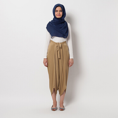 COVERING STORY Dilyon Pants Caramel [One Size]