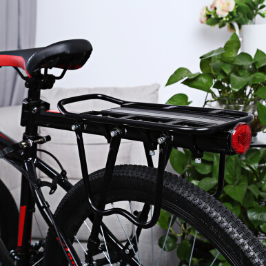 Adjustable Bicycle Rear Carrier Backseat Storage Rack Luggage Shelf Cycling Tool