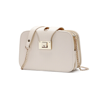 Stylish Lock Shoulder Bag for Women