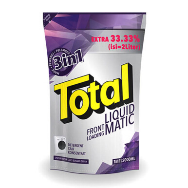 TOTAL Matic Front Loading 2 kg