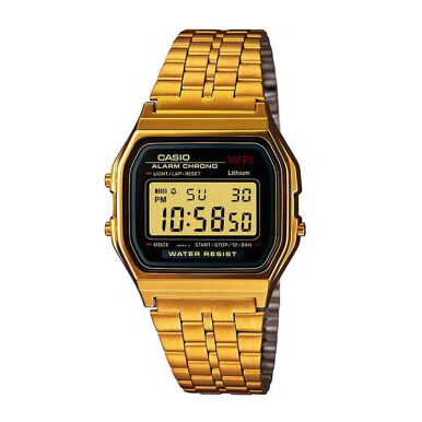 CASIO Retro Stainless Steel Digital Watch - [A159WGEA-1DF]
