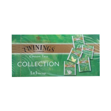 TWININGS Green Teas Selection 12x(5x5)x2 g