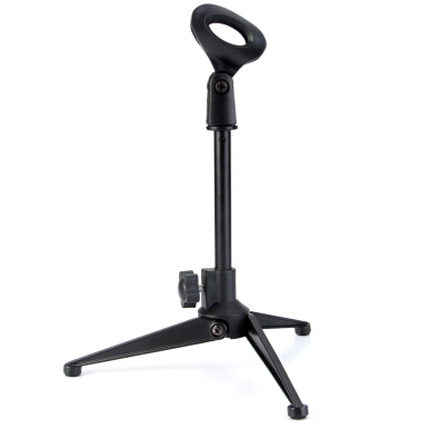 PC - 03 Adjustable Foldable Desktop Table Holder Microphone Tripod Stand Mount