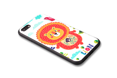 VOUNI Phone Case For Apple Iphone 6 6s 7 Plus Fashion Cartoon 3d Relief Painted Soft Silicone TPU Back Cover