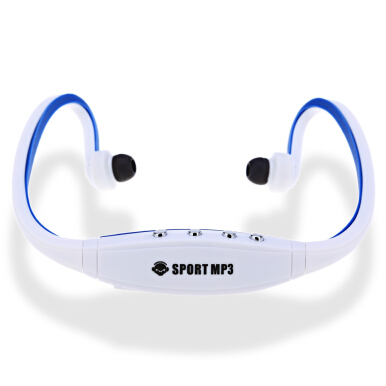 Portable Wearing Style Sport MP3 Player Headphone Headset FM Support TF Card