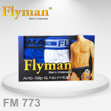 Flyman Midi Brief Dylon Pack FM 773 1 Pack Isi 3 Multicolor M .