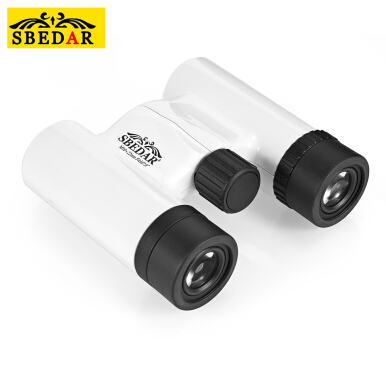 SBEDAR 10X22 HD Swing-up Folding Roof Prism Binocular