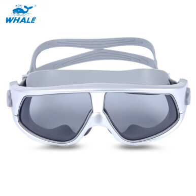 Whale Unisex Anti-fog UV Shield Protect Water Resistant Eyewear Goggles Swimming Glasses