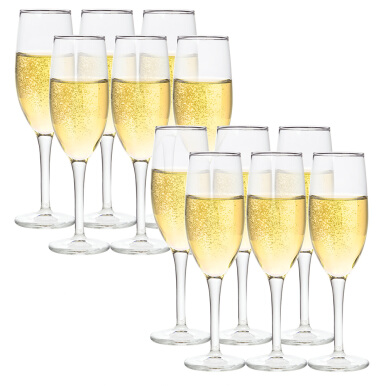 Gelas DURALEX Amboise Clear Champagne Flute 17 CL (isi 12 pc)