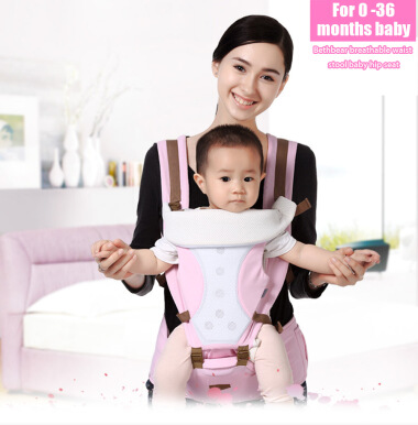 Bethbear Carrier Infant Backpack Waist Stool Baby Hip Seat