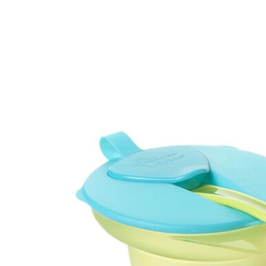 TOMMEE TIPPEE Cool and Mash Weaning Bowl - Green/Blue