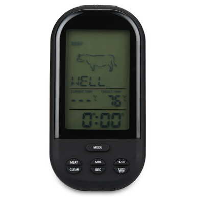 TS - HY62 Wireless Digital Meat Cooking Grill Thermometer with Sensor Probe