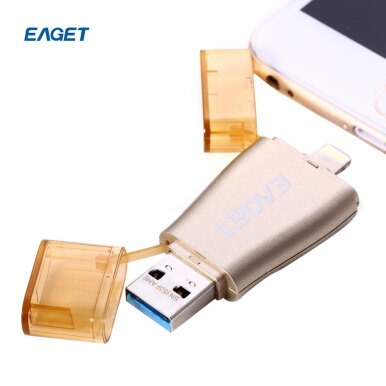 EAGET I50 USB 3.0 128GB OTG Flash Drive with Connector 128GB