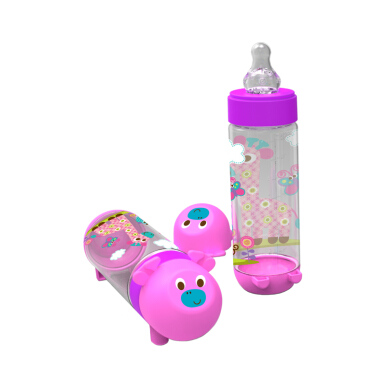 jual baby safe feeding bottle animal series reguler 250ml