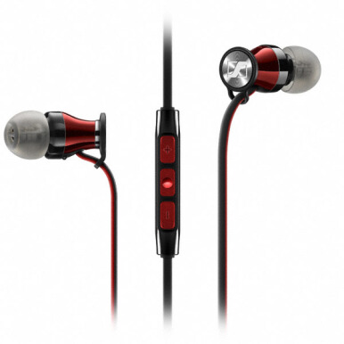 SENNHEISER Momentum In Ear I For IPhone - Red/Silver