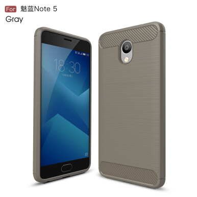 GANGXUN Meizu M5 Note Case Anti-Slippery Scratch-Resistant Lightweight Soft Silicon Back Cover For Meilan Note 5