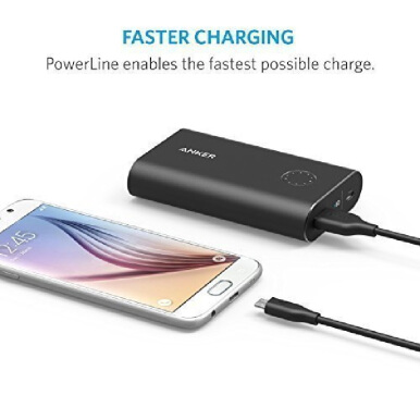 ANKER Powerline Micro USB (3ft/0.9m) Black