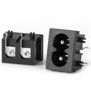 DIY Electronic AC Power Jacks - ( AC 250V 0.3A / 10PCS )