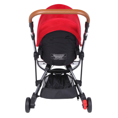 OYSTER Gem Babystyle Chrome Red (seat liner + cup holder + umbrella)