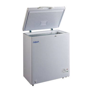 AQUA Chest Freezer Refrigerator - AQF-100(W)