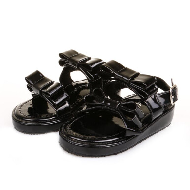 D'LILOE Papillon Bow - Black [22]