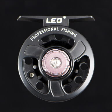 LEO Full Metal Fly Fish Reel Former Rafting Front Drag Spinning Reel Fishing Wheel Left/Right Interchangeable