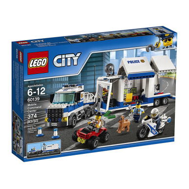 LEGO City Mobile Command Center 60139