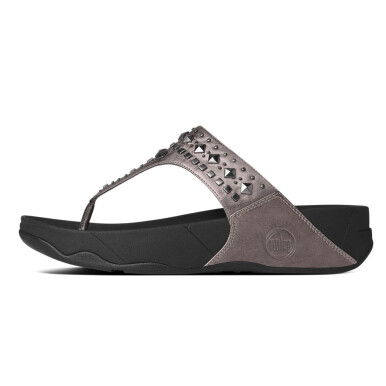 FITFLOP Biker Chic Wn - Pewter [7]