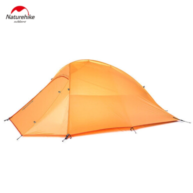 Naturehike NH15T002 - T 190T Nylon Double Layer Water-resistant Camping Hiking Tent Tool for 2 Persons