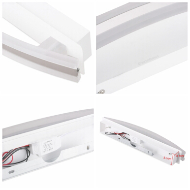 Excelvan 8W Warm White Bathroom Mirror Light OTP-JQJY