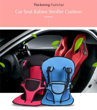 jual breathable pushchair car seat babies stroller thick cushion blue aosen. Black Bedroom Furniture Sets. Home Design Ideas