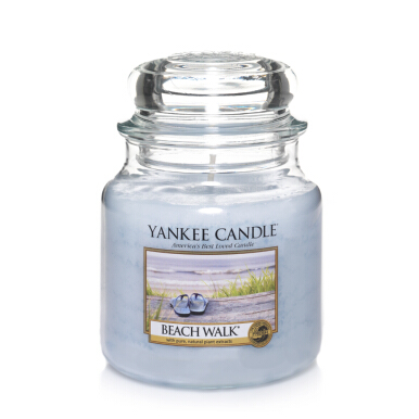 Yankee Candle Medium Candle Jar - Beach Walk - 411gr
