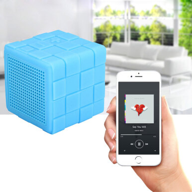 B13 - MF Magic Cube Wireless Bluetooth 4.0 Speaker (Blue)