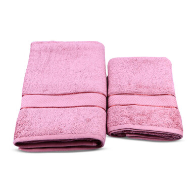 TERRY PALMER Premium Towel Bath & Travel 500g Set of 2 - Ungu/SET2TP1001-50NN-NLI