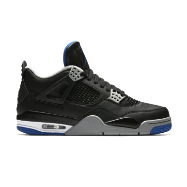 NIKE Air Jordan 4 Retro - Blue/Black 308497 006