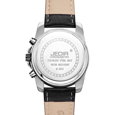 JEDIR 2023 Male Quartz Watch Date Display Luminous 3ATM Men Wristwatch